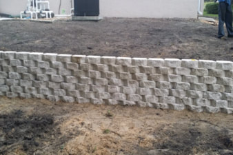 retaining wall Tampa